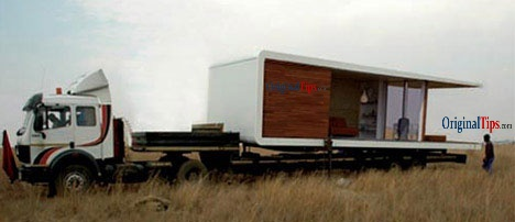 Prefabricated Home Technology - House on Wheels - 1