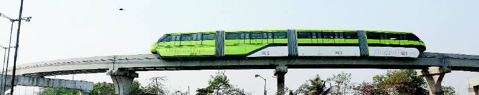 Mumbai Monorail Trial From Wadala to Bhakti Park
