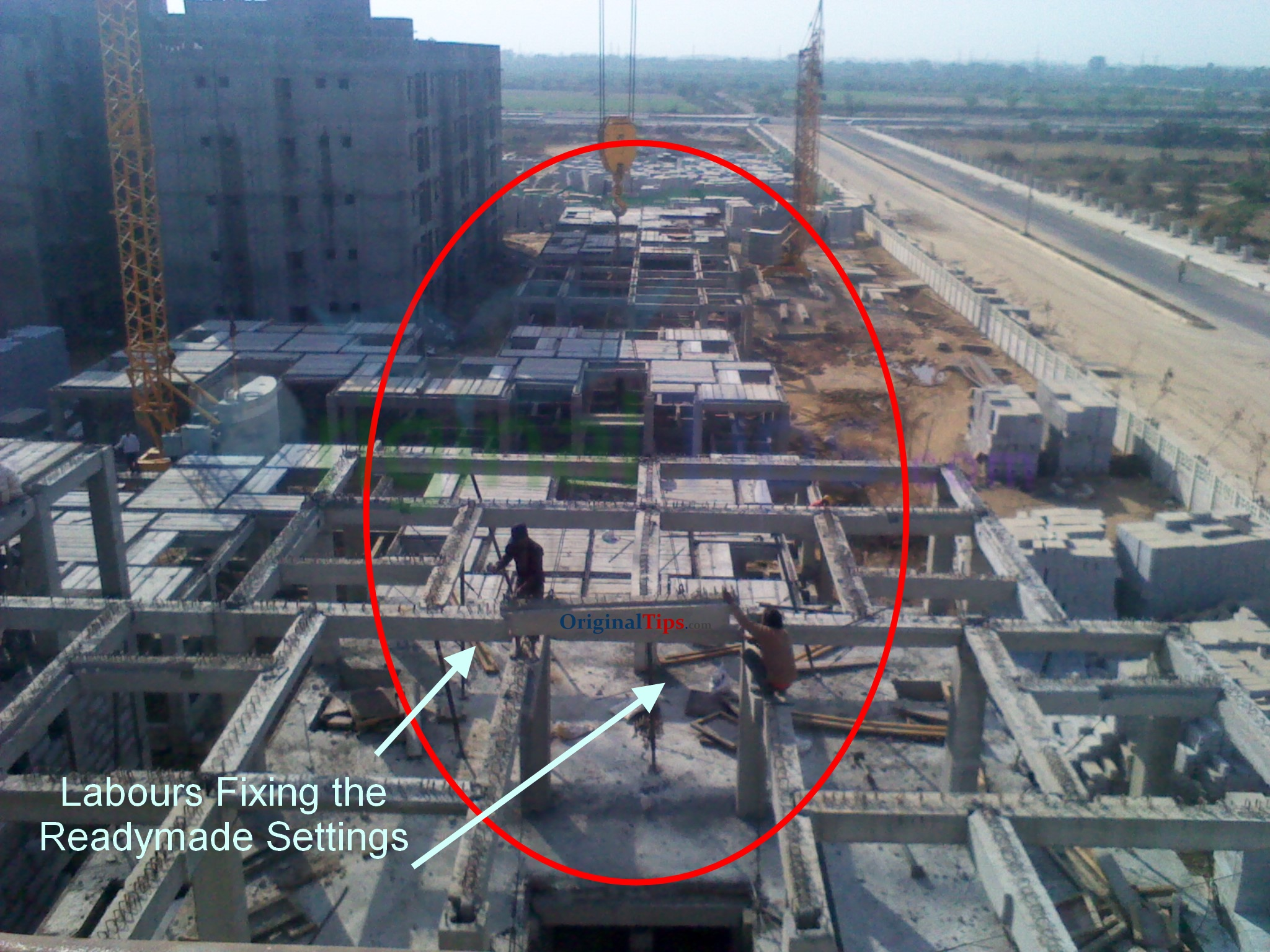 Actual Photo of Prefabricated DDA EWS Flats in Pocket 8, Sector 23B