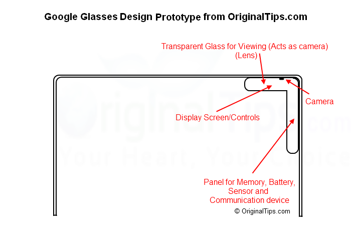 Google Glasses Design Prototype