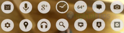 Google Glasses Icons
